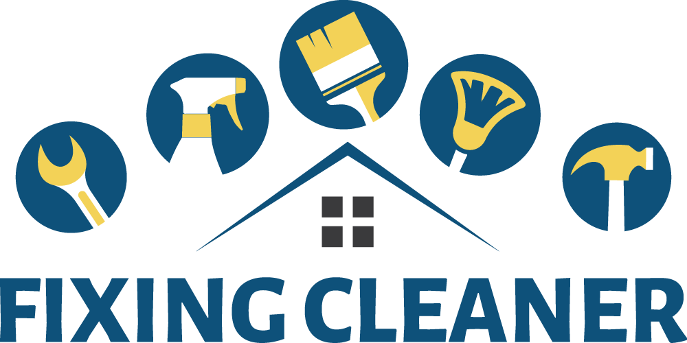 fixing cleaner offering all your home office maintenance and all rh fixingcleaner com cleaning logos images cleaning logo ideas